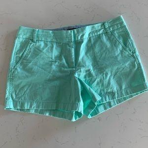 J Crew 4 inch Chino Shorts